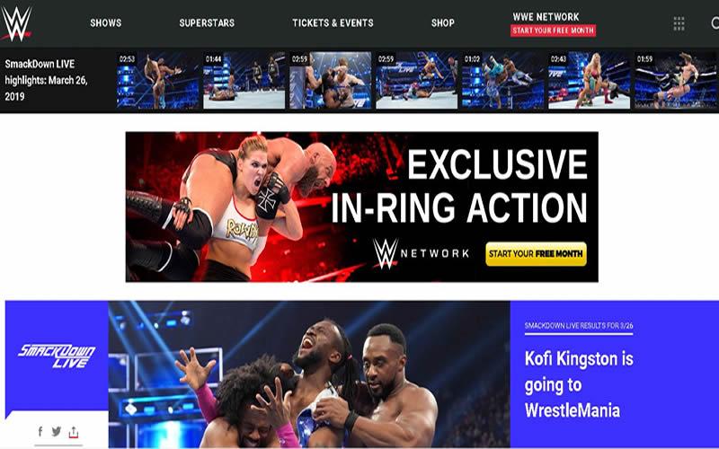 美国WWE职业摔跤视频图片网